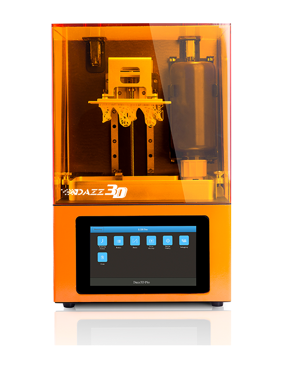 3D LCD 405nm UV Curing Resin 3D Printer Perfect for Wax Casting Jewelry, Dental, and Sculpture
