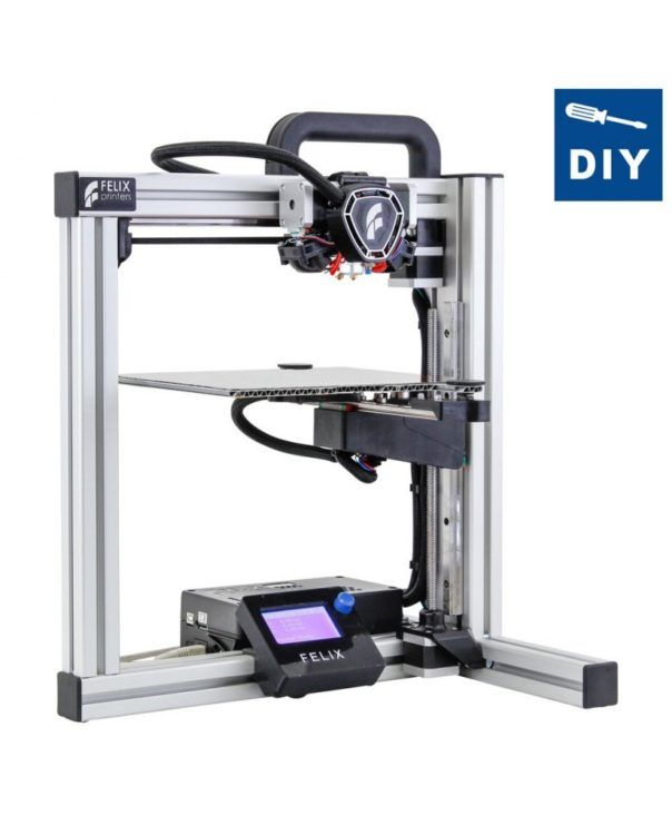 FELIX Tec 4 3D Printer Dual Extruder DIY Kit