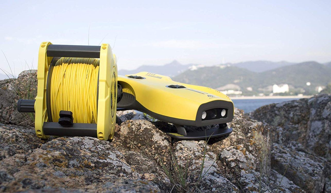 Underwater ROV Drone with 4K UHD Underwater Camera – Advanced version
