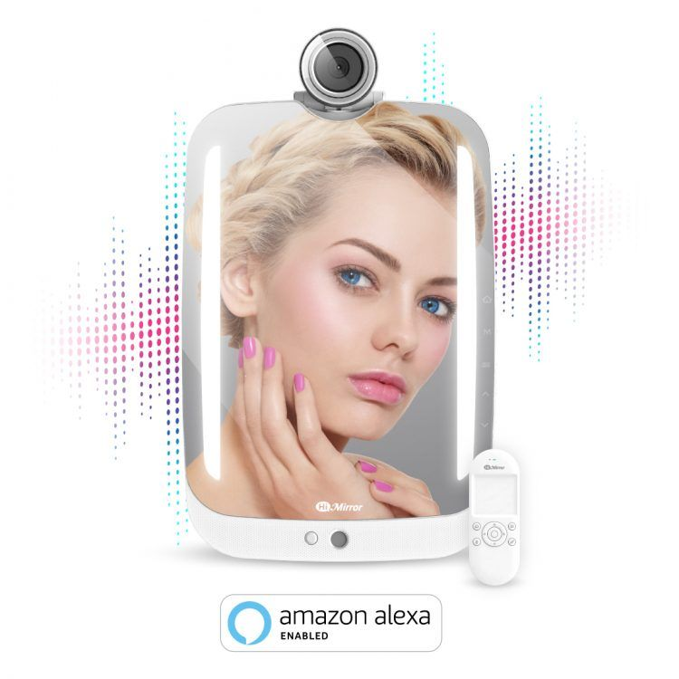 Smart Beauty Mirror with LED Makeup Lights and Amazon Alexa Voice