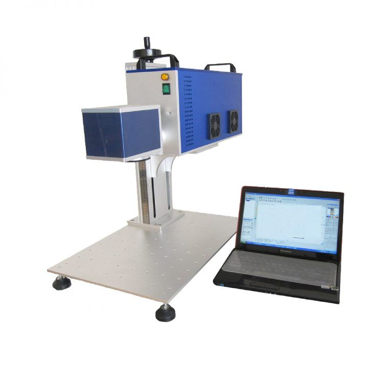 HeatSign Premium Industry 30W CO2 Laser Marker Machine for Non-metal Materials Engraving