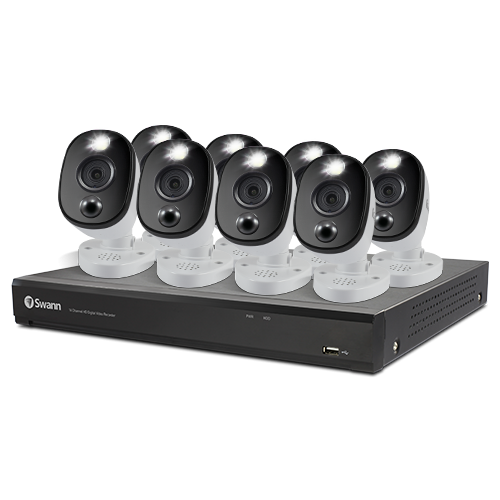 8 Camera 16 Channel 4K Ultra HD DVR Security System