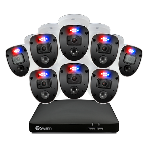 Enforcer 8 Camera 8 Channel 1080p Full HD DVR Security System