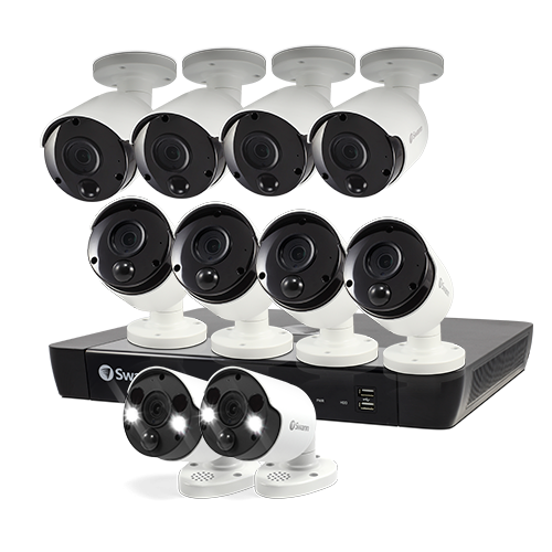 10 Camera 16 Channel 5MP Super HD NVR Security System