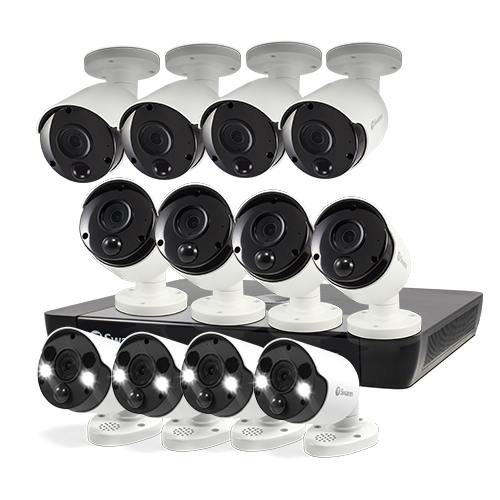 12 Camera 16 Channel 5MP Super HD NVR Security System