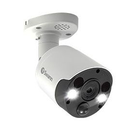 4K Thermal Sensing Spotlight Bullet IP Security Camera - NHD-887MSFB