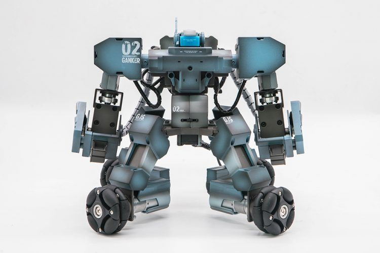 Ganker Robot for Entertainment, Sports, Competitions and Education