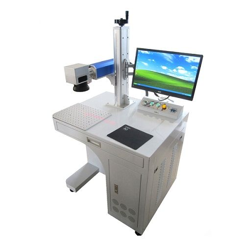 HeatSign Fiber Laser Marking Machine 20w For Permanent Metal Parts Marking and Engraving