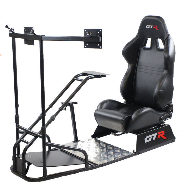 Racing Simulator Seat for Gaming and Training Simulations – GTSF