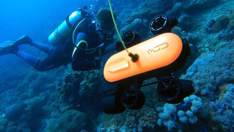 The Deepest Underwater Drone with 4K UHD Camera – Geneinno Drone T1