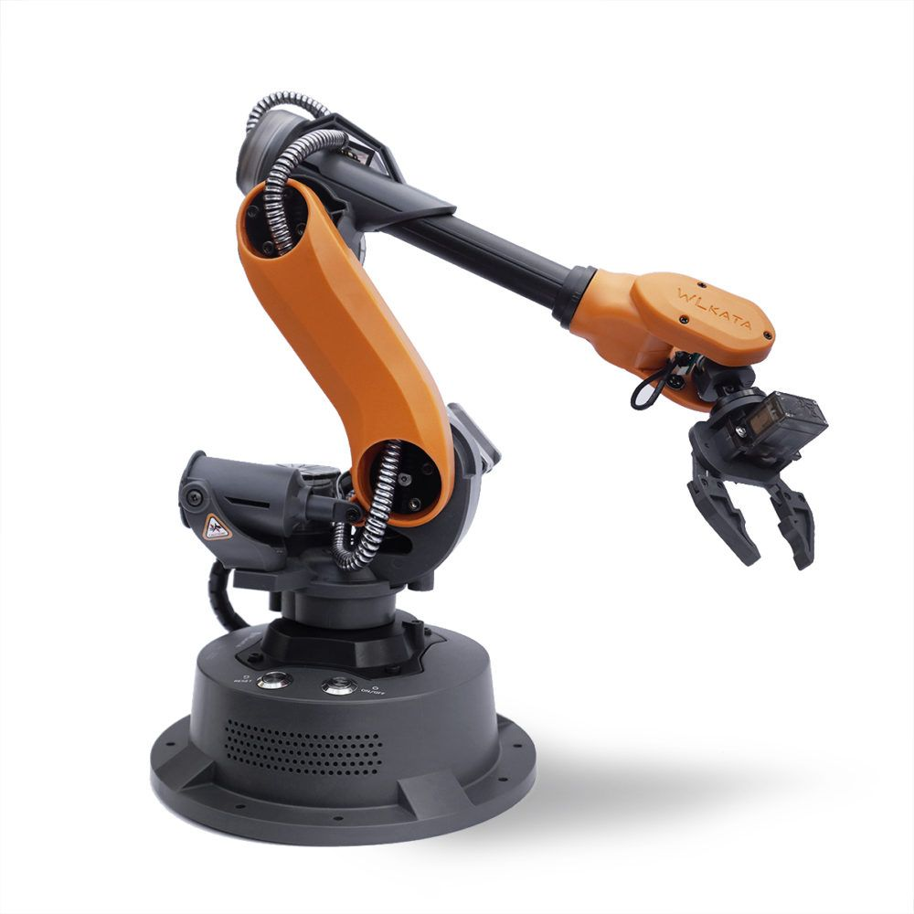 WLKATA Mirobot Basic Kit– 6-Axis Mini Industrial Robot For Education