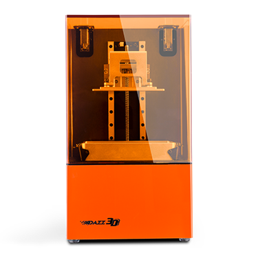 UV curing resin 3D Printer perfect for wax casting jewelry, dental, sculpture, model printing