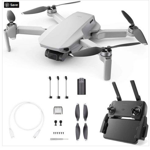 DJI Mavic Mini 4KM FPV Drone with 2.7K Camera 3-Axis Gimbal 30mins Flight Time 249g Ultralight GPS RC Quadcopter